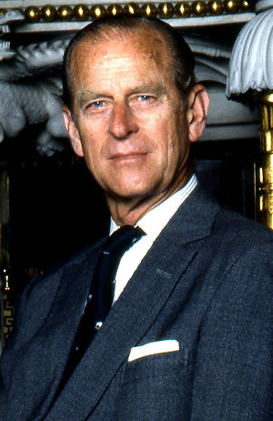 English: Crop of photograph of Prince Philip, ...