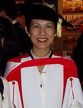 Hisako, Princess Takamado - Princess Takamado shortly after receiving an honorary doctorate and delivering the convocation speech at the University of Alberta, 10 June 2004.