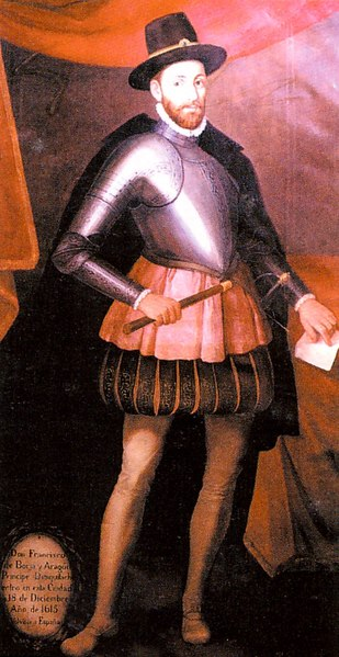 Francisco de Borja y Aragón.