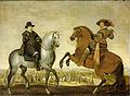 Prins Maurits en prins Frederik Hendrik te paard Rijksmuseum SK-A-568.jpeg