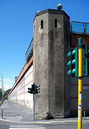 San Vittore Prison - External walls