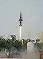 Prithvi-II launch on 20 December 2012.jpg