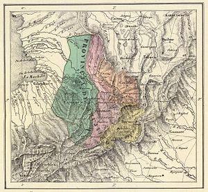 Trujillo Province (Venezuela) - Trujillo Province in 1840.