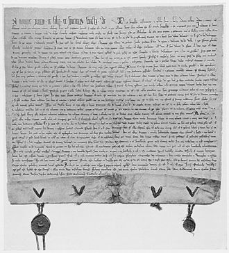 Magdeburg rights - City charter of Kraków, Poland's medieval capital; inscribed in Latin.