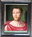 Pseudo félix chrétien (forse bartholomeus pons), ritratto d'uomo all'antica, borgogna 1535-1550 ca..JPG