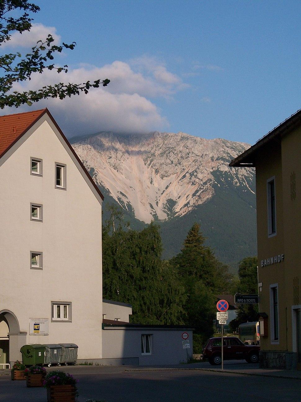 Puchberg am Schneeberg-view