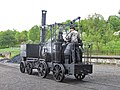 Puffing Billy, Pockerley Waggonway yard, Beamish Museum, 17 May 2011.jpg