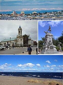 Collage of Punta Arenas