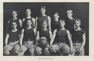 1900–01 Purdue Boilermakers men's basketball team - Image: Purdue basketball 1901