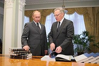 Putin&Osipov06 2009