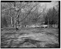 Quarter view, looking northwest. - Pendleton Avenue Bridge, Spanning Fall Creek, Pendleton, Madison County, IN HAER IND,48-PEN,1-7.tif