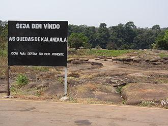 Kalandula Falls - Image: Quedas Kalandula 01 Bem Vindo LWS 2011 08 QD14
