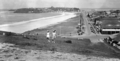 Queensland State Archives 2035 Marine Parade Coolangatta Greenmount Hill in the distance c 1934.png