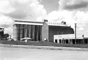 South Burnett - Peanut silos, 1945