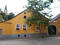 Ráby House. Listed ID 7391. Baroque residential building. Built in 1768. - Gőzhajó St. and 1 Rab Ráby Sq., Szentendre, Pest County, Hungary.JPG