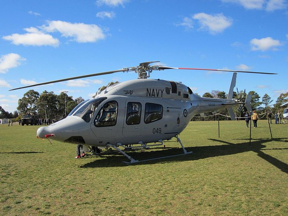 RAN Bell 429 N49-049 in August 2012