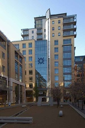 Royal Bank of Scotland Group - RBS offices in Brindleyplace, Birmingham
