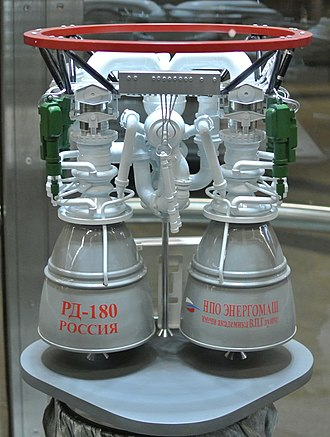RD-180 - A model of the RD-180