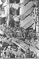 "RESCUE WORKERS SEARCHING THE RUINS OF THE BRITISH CENTRAL GOVERNMENT OFFICES IN JERUSALEM'S ""KING DAVID"" HOTEL BLOWN UP BY ""ETZEL"" UNDERGROUND FORCES.D21-019.jpg"