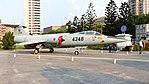 ROCAF F-104G 4348 Display in Front of Administration Building of Former ROCAF Headquarters 20140405a.jpg
