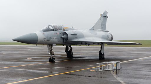 ROCAF Mirage 2000-5EI 2016 at Ching Chuang Kang AFB Apron after Demonstration Flight 20161126a