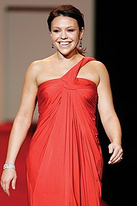 Rachael Ray Rachael Ray, Red Dress Collection 2007.jpg