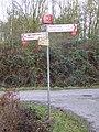 Radrevier.ruhr Knotenpunkt 18 Heideseee Wegweiser.jpg