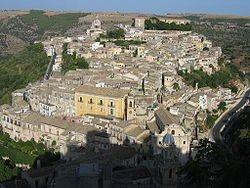 Panorama of Ragusa Ibla