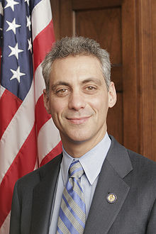 Portrait officiel de Rahm Emanuel.