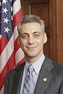 Rahm Emanuel, official photo portrait color