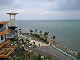 Tanjung Pinang - The Raja Haji Fisabillah Monument in Tanjung Pinang