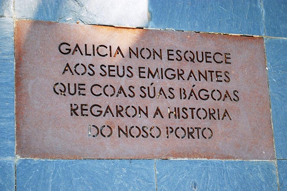 Ramón Conde, 2010, placa, Galicia non esquece