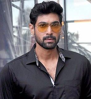 Rana Daggubati Indian film actor