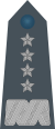 Rank insignia of generał of the Air Force of Poland.svg