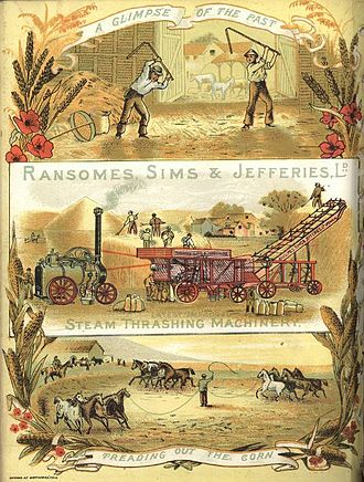 James Allen Ransome - Image: Ransomes, Sims & Jefferies Ltd. advertising poster, 1875
