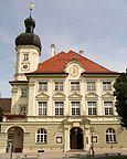 Niemcy - Bawaria, Tüßling, Widok z ratusza