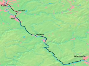 East Rhine Railway Wikipedia