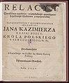 Relacya chwalebney expedyciey, triumphalnego powodzenia, szczesliwego uspokoienia z nieprzyiaciolmi, naiasnieyszego y niezwyciezonego monarchy Jana Kazimierza 1650 (66377692).jpg