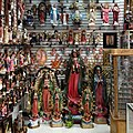 Religious statuary store in Plaza Fiesta, DeKalb County, Metro Atlanta, Georgia, May 2013.JPG