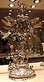 Reliquiario della santa croce, argento, perle e smalti, xvi-xviii sec.JPG