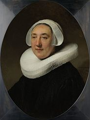 Portrait of Haesje Jacobsdr van Cleyburg