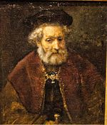 Rembrandt - Portrait of a Bearded Old Man in Beret - E. Bagley.jpg