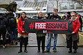 Reporters Sans Frontières manifeste à Londres en Soutien de Julian Assange.jpg
