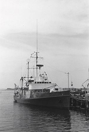 USCGC Crawford (WSC-134) - R/V Crawford at Woods Hole Oceanographic Institution