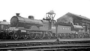 GCR Class 8B - Two LNER Class C4 (ex GCR Class 8B) on Retford shed in April 1947