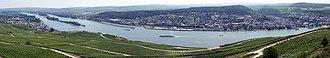 Rheingau - Image: Rhein Pano Niederwald D501m
