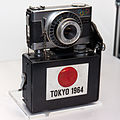 Ricoh Auto Shot for 1964 Summer Olympics finish line recording 1 2014 CP+.jpg