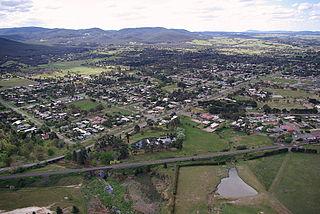 Riddells Creek Town in Victoria, Australia
