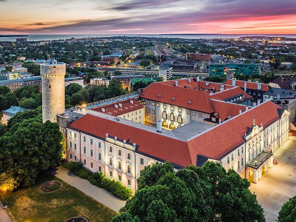 Chancellerie du Riigikogu à Tallin - Photo de Kaupo Kalda
