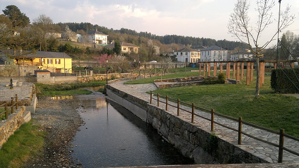 Rio Saa na Pobra do Brollón